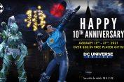 Happy 10th Anniversary DC Universe Online
