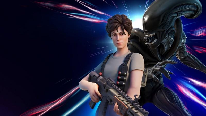 Aliens' Ripley And Xenomorph Join Fortnite