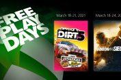 Free Play Days – Tom Clancy's Rainbow Six Siege and Dirt 5