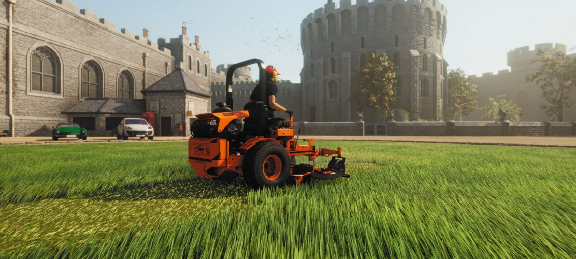 Lawn Mowing Simulator Revealed as a New Title from Skyhook Games and Curve Digital