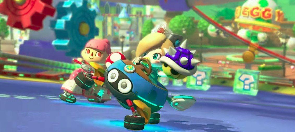 "Random: The Next Mario Kart 8 Deluxe Speedrun Challenge? Trying To ""Blue Yourself"""