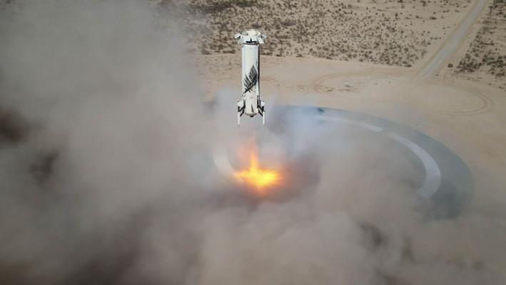 Blue Origin will run an 'astronaut rehearsal' during a launch this week to prep for human spaceflight