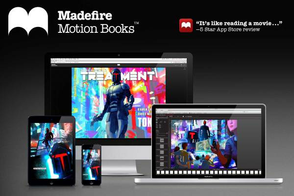 Digital comics startup Madefire is shutting down