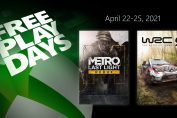 Free Play Days – Metro: Last Light Redux and WRC 9 FIA World Rally Championship