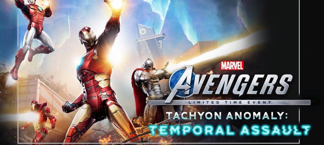 Marvel's Avengers Tachyon Anomaly Event Begins April 22