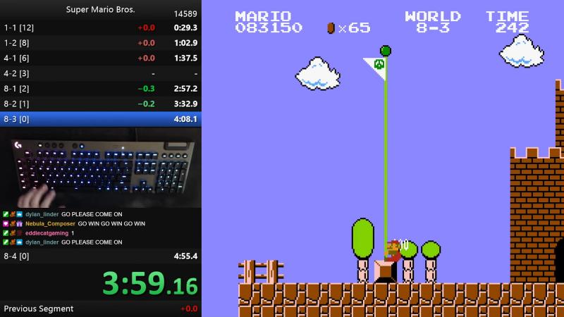 Niftski Breaks The Super Mario Bros. Speedrun Record With A Perfect Run