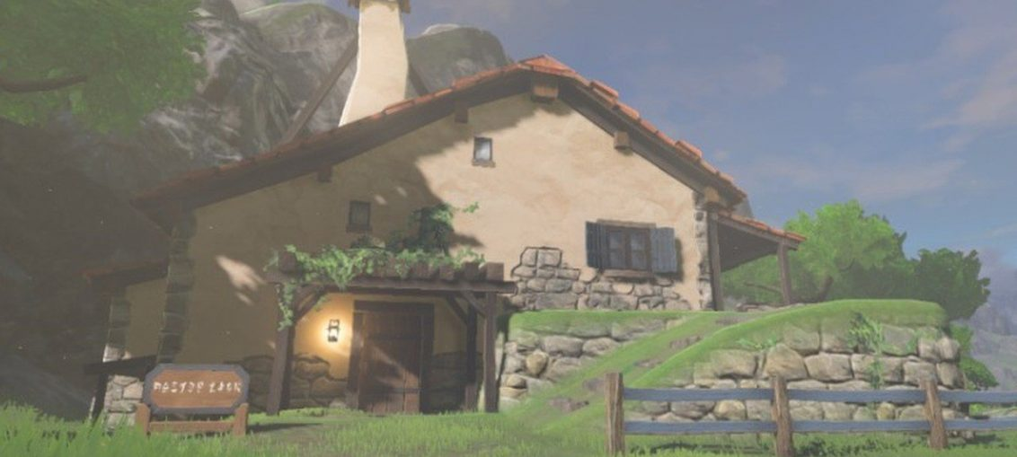 Random: Link's Breath Of The Wild House Is Set In A Surprisingly Divine Location