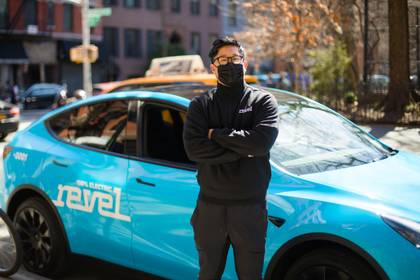 Revel launches an all-electric, rideshare service with a fleet of 50 Teslas