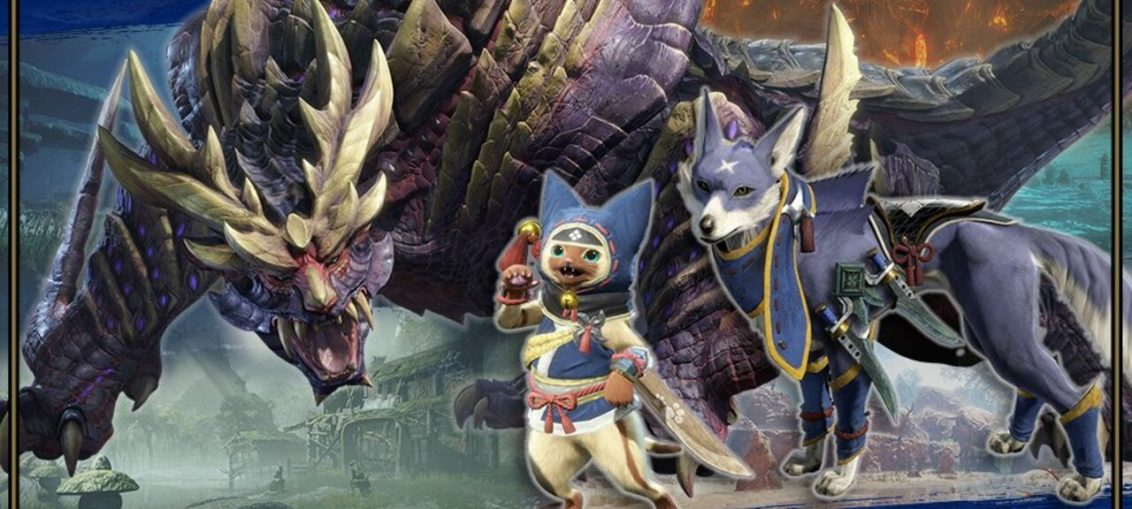 Three Brand New Monster Hunter Rise Spirits Are Being Added To Smash Bros.