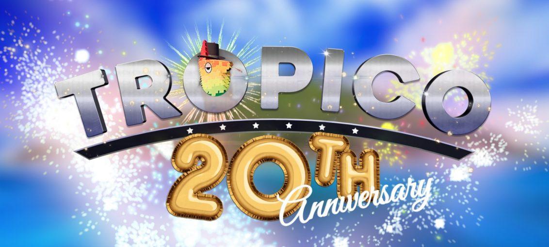 Tropico Celebrates 20 Years with Exploding Llama Pinatas