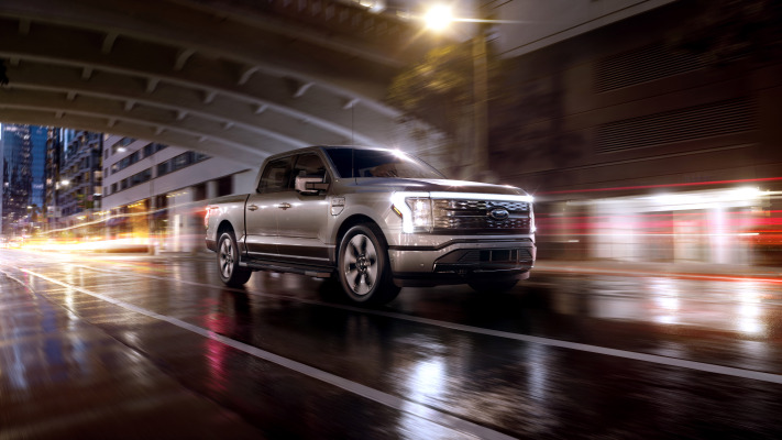 Ford unveils the F-150 Lightning, its all-electric pickup truck that will start under $40,000