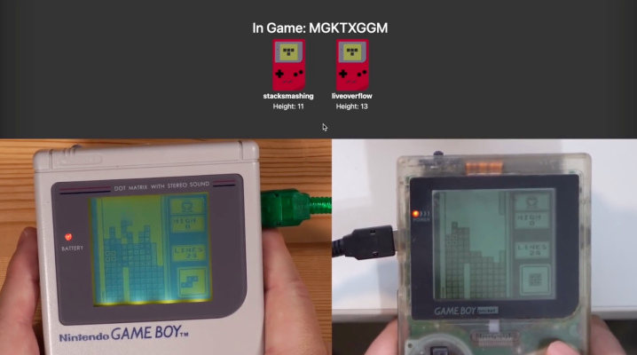 Hardware hacker brings online multiplayer to the original Game Boy