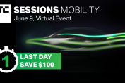 Less than 24 hours to save $100 to TC Sessions: Mobility 2021