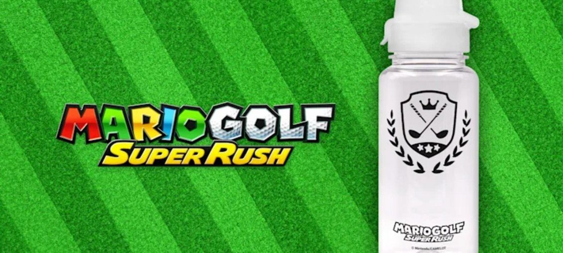 Mario Golf: Super Rush Pre-Orders Come With A Free Water Bottle At Nintendo's UK Store