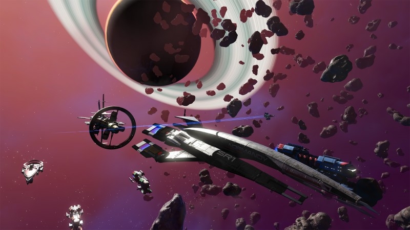 Mass Effect Is Crossing Over With No Man's Sky