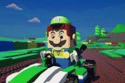 Random: What If Nintendo Made A LEGO Mario Kart Game?