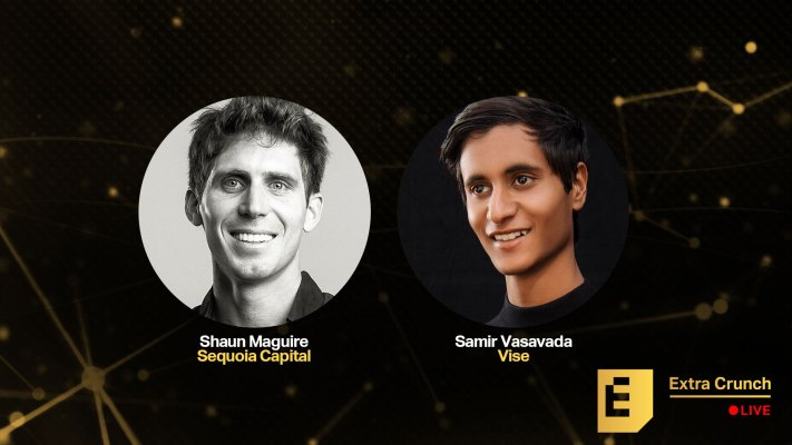 Sequoia's Shaun Maguire and Vise's Samir Vasavada will talk success in fintech on Extra Crunch Live