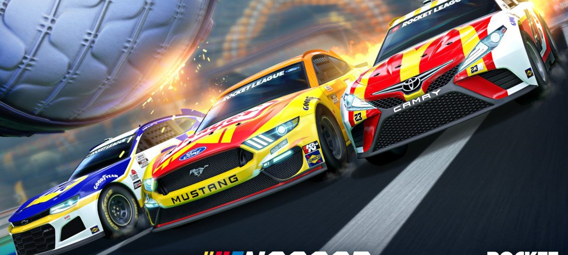 The NASCAR Fan Pack Speeds into Rocket League