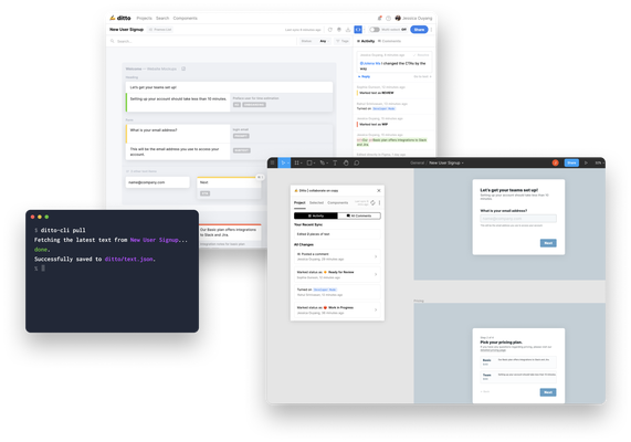 Ditto raises $1.5 million to help teams collaborate on copy