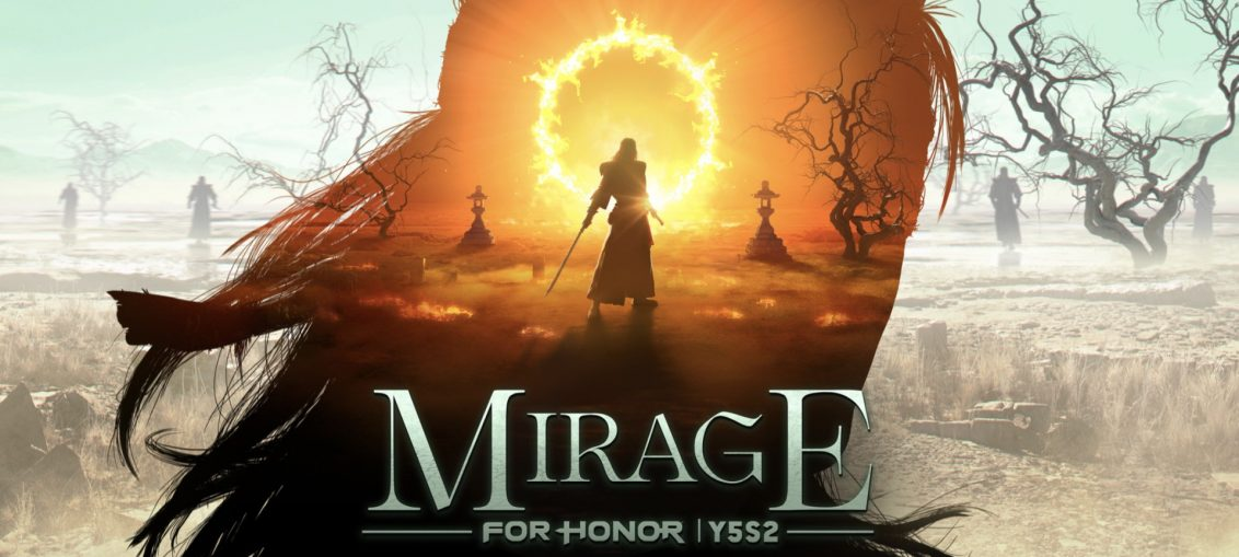 For Honor Launches Year 5 Season 2: Mirage with Visions of the Kyoshin Event