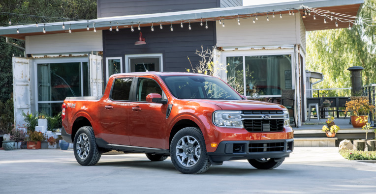 Ford unveils Maverick, a compact hybrid pickup truck for under $20,000