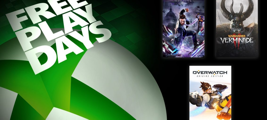 Free Play Days – Saints Row IV: Re-Elected, Overwatch Origins Edition, and Warhammer: Vermintide 2