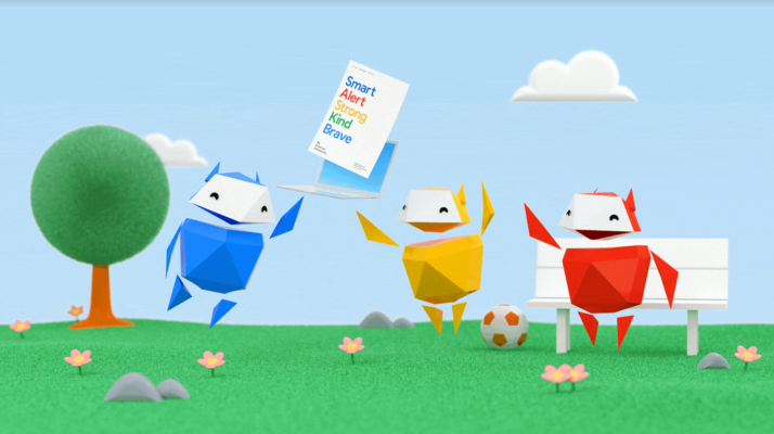 Google updates its kids online safety curriculum with lessons on gaming, video and more