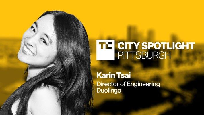 Karin Tsai, director of engineering at Duolingo will be speaking at TechCrunch City Spotlight: Pittsburgh on June 29