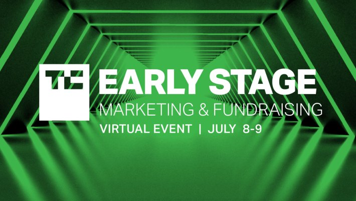 Only two more weeks until TC Early Stage 2021: Marketing & Fundraising