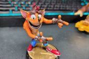 Random: Someone 3D Printed Their Very Own Crash Bandicoot Smash Bros. amiibo