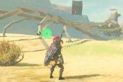"""Random: """"Spaghetti Legs"""" Guardian Glitch In Zelda: BOTW Looks Like A Scene Out Of One Piece"""