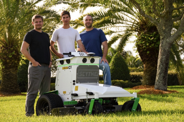 Robotic landscaping startup Scythe emerges from stealth with $13.8M raise