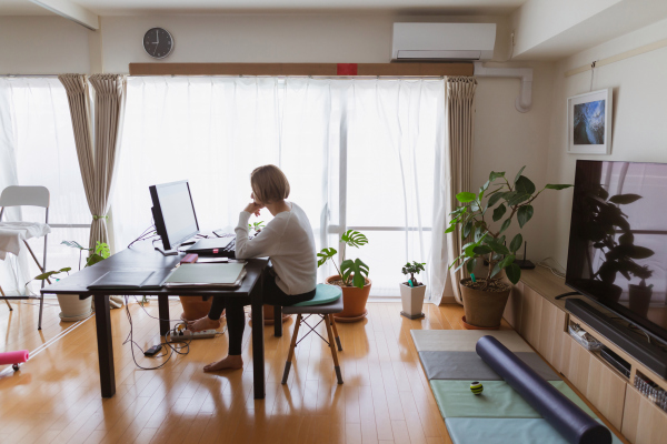 Tech companies are looking at more flexible work models when offices reopen