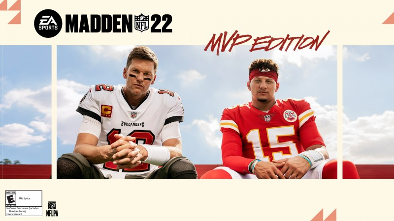 Tom Brady And Patrick Mahomes Are Your Madden NFL 22 Cover Athletes