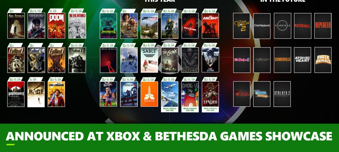 Xbox & Bethesda Games Showcase: 20+ Day One Games with Xbox Game Pass