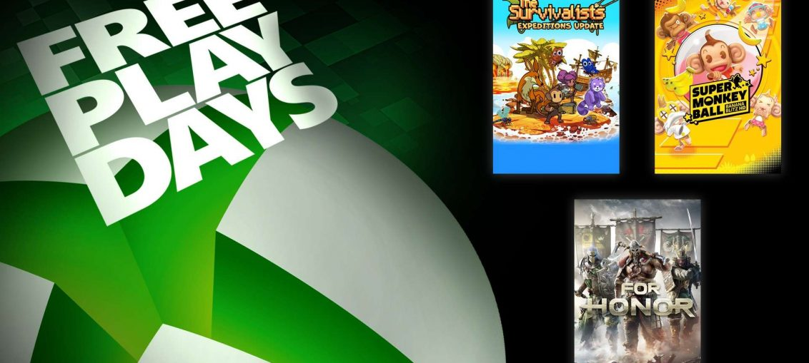 Free Play Days – For Honor Standard Edition, The Survivalists, and Super Monkey Ball: Banana Blitz HD