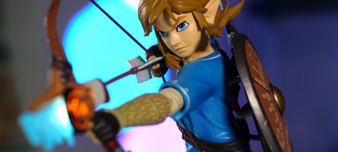 Gallery: First 4 Figures' Zelda: Breath Of The Wild Link Takes Aim