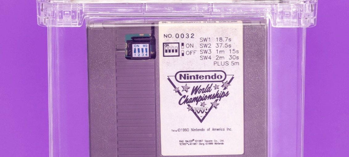 Investment Scheme Opens Up Shares For Nintendo World Championships Cartridge