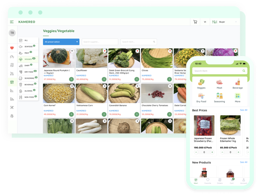 Kamereo gets $4.6M to connect farmers and F&B businesses in Vietnam
