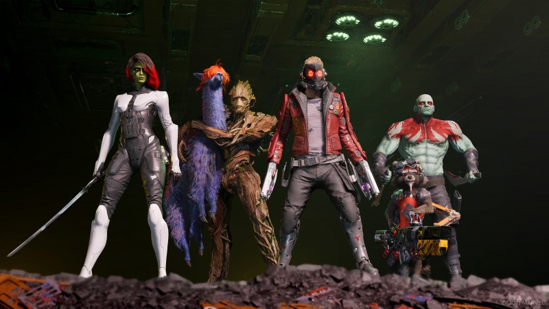 Marvel's Guardians Of The Galaxy Origin Story