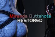 Mass Effect Legendary Edition Mod Restores Original Trilogy Miranda Butt Scenes