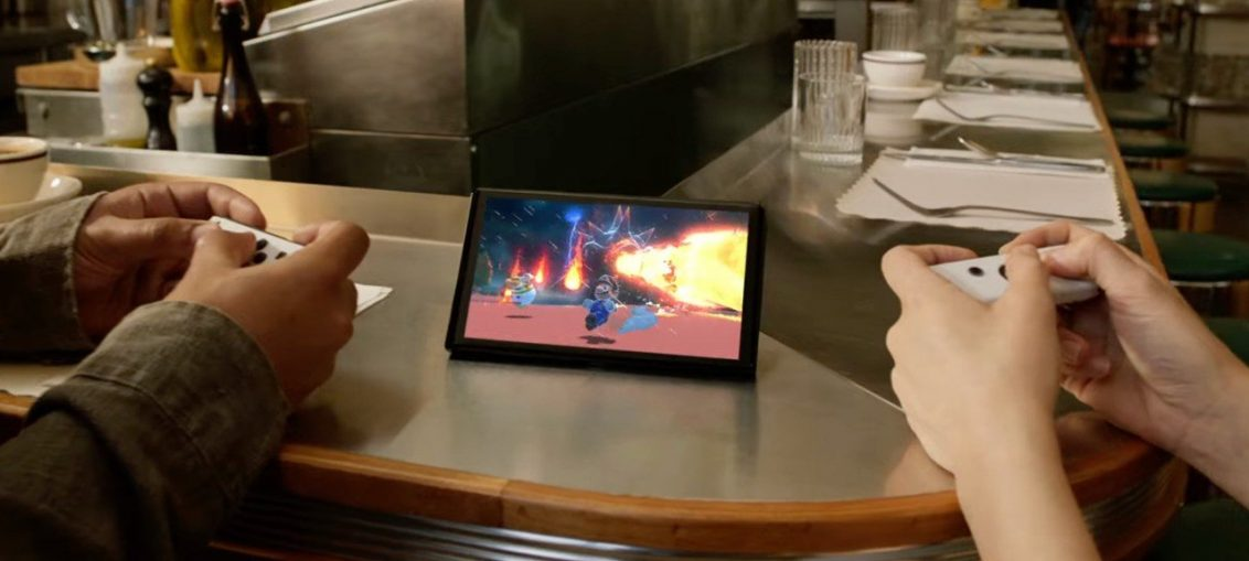 Soapbox: Could Switch OLED Actually Make A Reality Of Nintendo's Cheesy Tabletop Dream?