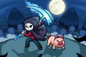 Spindle Is A Zelda-Like Where You Play The Role Of Death... And A Pig