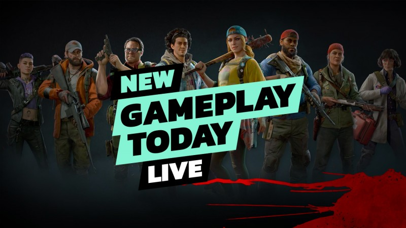 Back 4 Blood Beta Gameplay With The GI Crew - New Gameplay Today Live