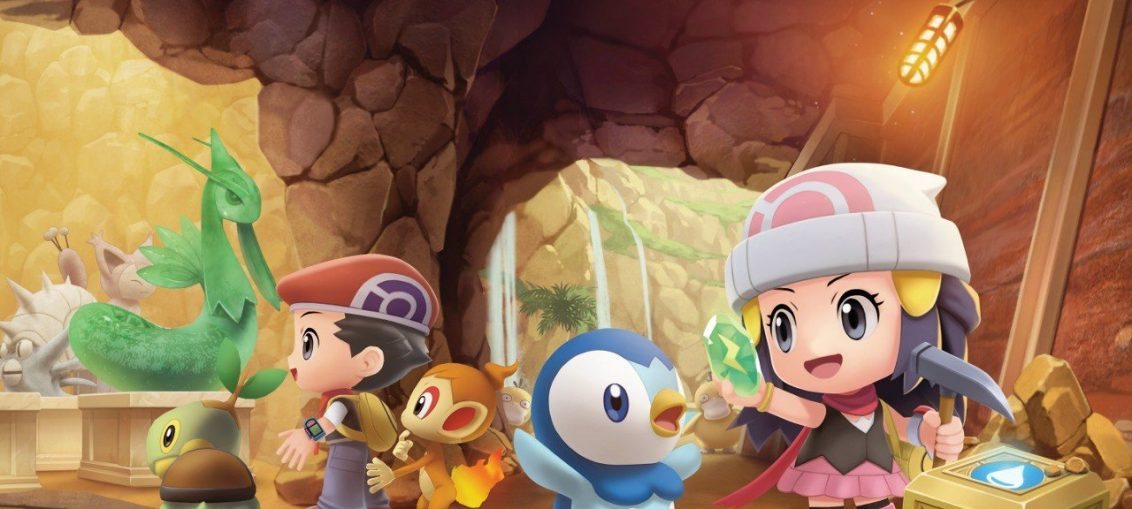 Pokémon Brilliant Diamond And Shining Pearl's New 'Grand Underground' Map Looks Epic