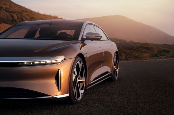 Daily Crunch: Lucid Air puts Tesla in rearview mirror by earning 520-mile EPA range rating
