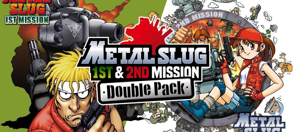 Out Now: Metal Slug 1st & 2nd Mission Get A Handy eShop Double Pack
