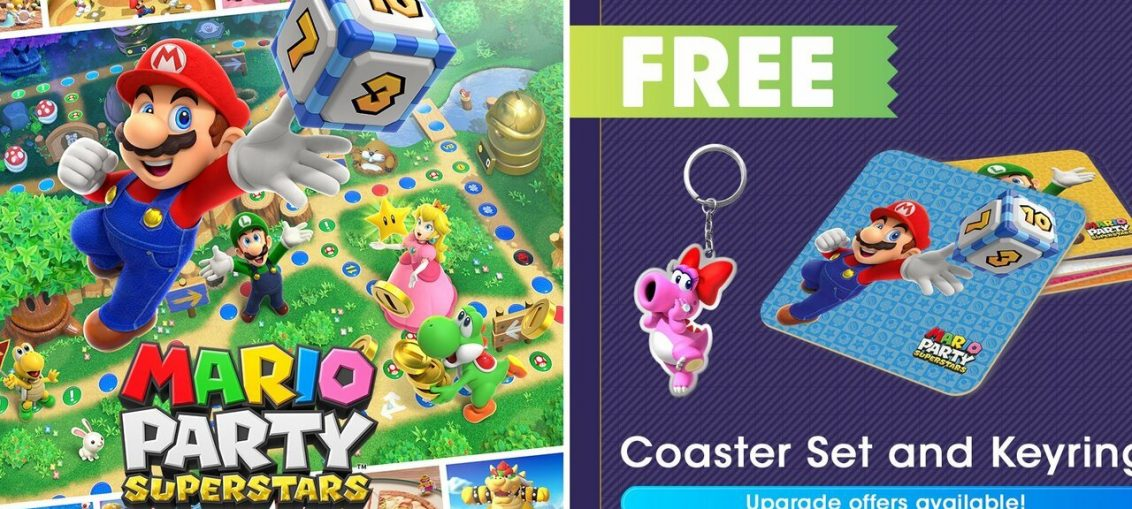 Pre-Order Mario Party Superstars From My Nintendo And Get Some Free Goodies (UK)