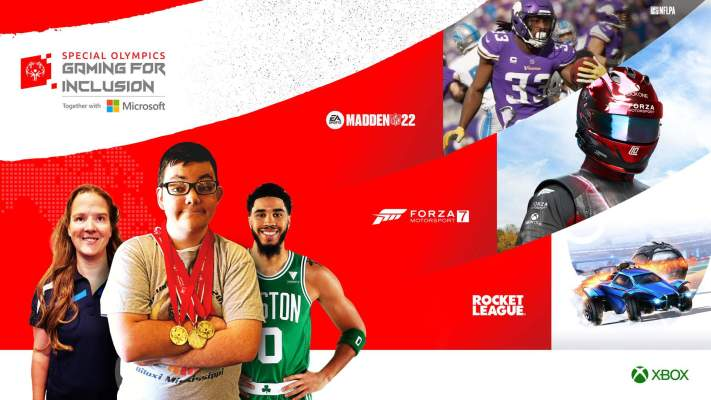 Xbox and Special Olympics hold first 'Gaming for Inclusion' esports event